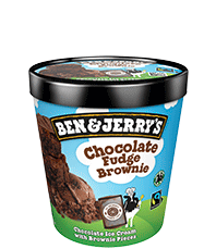 Chocolate Fudge Brownie Original Ice Cream Dessert Ice cream